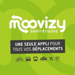 Moovizy Saint-Étienne, une seule appli pour tous vos déplacements !